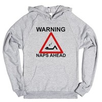 Naps Ahead-Unisex Heather Grey Hoodie