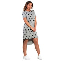 Fashion Print Star Summer Women Dresses bBg Sizes NEW 2017 Plus Size Women Clothing Knee-Length Dress Casual Loose Dress