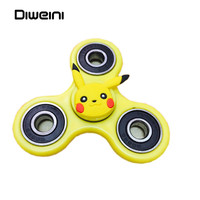 Cartoon Colors Tri-Spinner Anti Stress Sensory Fidget Spinner Hand Spinner Ball For Adult Children Toys Gift