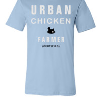 urban chicken farmer - Unisex T-shirt