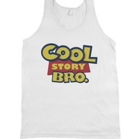 White Tank | Cute Toy Story Parody Shirts