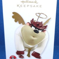 2012 Me No Angel Hallmark Looney Tunes Taz Retired Ornament