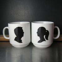 Custom Mugs and Portraits by MissCrowland on Etsy