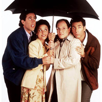 Seinfeld Umbrella TV Show Cast Poster 11x17