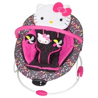 Hello Kitty Pin Wheel Trend Bouncer by Baby Trend (Pink)