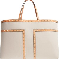 Tory Burch Block-T Large Stud Tote | Nordstrom