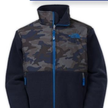 The North Face Denali Jacket for Boys in Camo CDB7-S3K