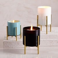 Caged Glass Candles