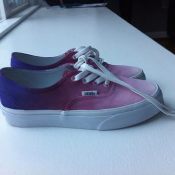 Purple Ombre Vans