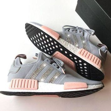 Adidas NMD NMD_R1 W Glittering Breathable Running Sports Shoes Sneakers G