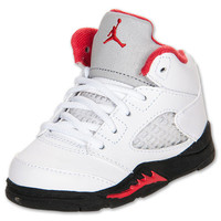 Nike Baby Air Jordan 5 Retro (TD) size 10C -COOL TODDLER RUN-