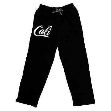 California Republic Design - Cali Adult Lounge Pants - Black by TooLoud