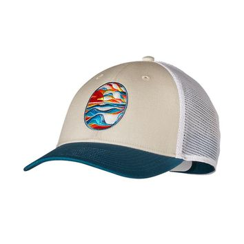 Patagonia Stained Glassy LoPro Trucker Hat