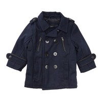 Urban Republic | Peacoat with Faux Leather Trim (Baby Boys) | Nordstrom Rack