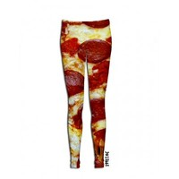 ☮♡ Pizza Leggings ✞☆