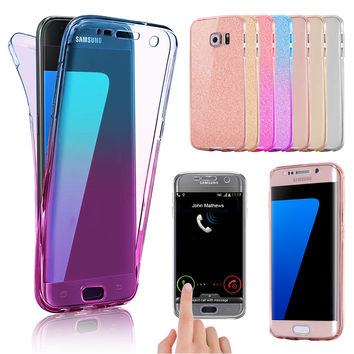 For Samsung Galaxy S7 S8 S9 Plus Case Shockproof Silicone Protective Clear Cover | eBay