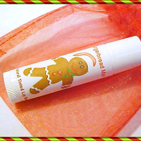 Holiday Lip Balm Gingerbread Man Limited Edition Lip Butter in Organza Bag