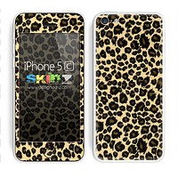 Cheetah Animal Print V3 Skin For The iPhone 5c