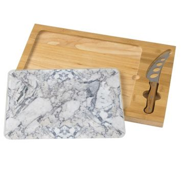 """Marble"" Cheese Cutting Board"