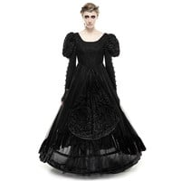 Punk Rave Victorian Wedding Dress