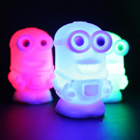 Despicable Me 2 Minions Figures Color Changing Night Lamp