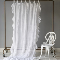 Linen Whisper Curtain Panel in Choice of Color