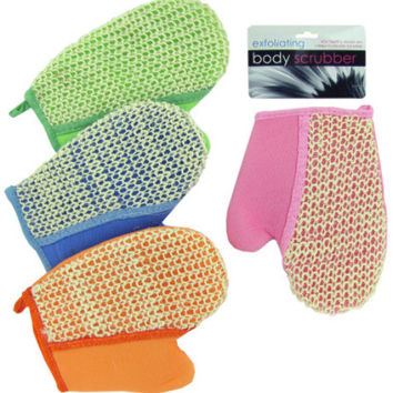loofah bath glove Case of 24