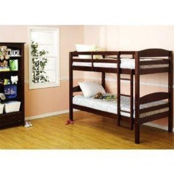 DaVinci Kids Bailey Bunk Bed in Espresso