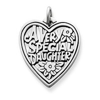 """Very Special Daughter"" Charm 