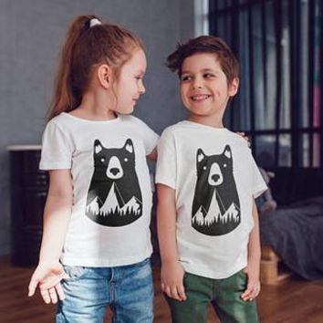Bear Kids Shirts Kids tshirt Toddler Shirt Papa