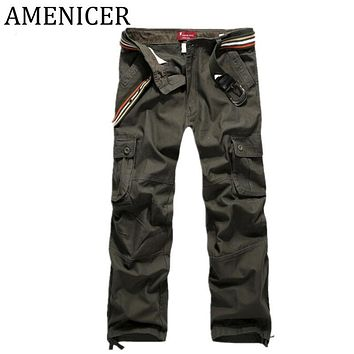 Men Sweat Pants Military Style Tactical Cargo Harem Pant Harem Camouflage Army Trousers Joggers Sweatpants Sportswear Clothing
