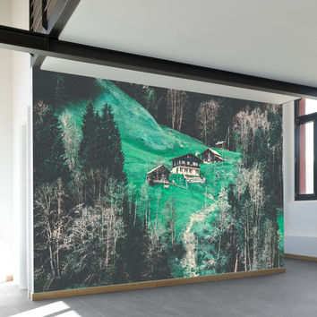 Grindelwald Alp Wall Mural