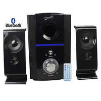 Supersonic 2.1 Bluetooth Multimedia Speaker System With USB-SD And Remote