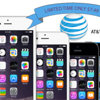 AT&T iPhone factory unlock 3 3G 3GS 4 4S 5 5c 5s 6 6+ (Clean)