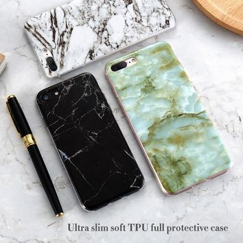 Marble Style Phone Case For iPhone