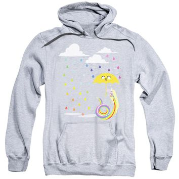 Adventure Time - Lady In The Rain Adult Pull Over Hoodie
