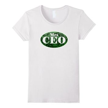 Entrepreneur Mrs CEO Boss One Hundred Dollar Bill T-Shirt