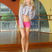 Free Shipping - Adult Crop Hoodie by URBAN DANCEWEAR