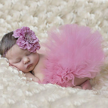 Baby Girls Tutu Design Photography Props Infant Toddler Costume Outfit Matching Headband Pettiskirt Skirt TS025