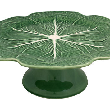 Cabbage Cake Stand, Green, Cake Stands & Tiered Trays