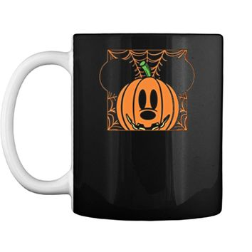 Disney Mickey Mouse Pumpkin Web Halloween Mug