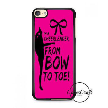 Cheers Cheerleader Bow To Toe iPod Touch 6 Case