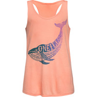 O'neill Jonah Girls Tank Coral  In Sizes