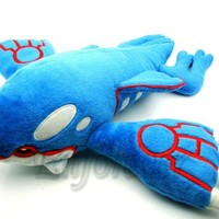 "Large Pokemon GO 15x17.5"" kyogre Plush Toy^PB26"