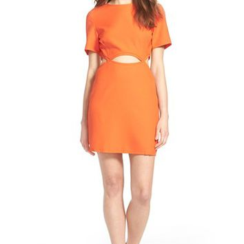 Women's Missguided Crepe Shift Dress,