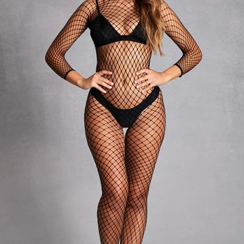 Sheer Fishnet Jumpsuit