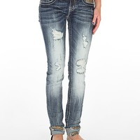 Miss Me Cuffed Ankle Skinny Stretch Jean - Women's Jeans | Buckle