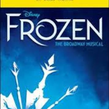 Frozen The Musical Playbill