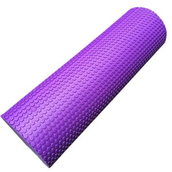 60*15cm Foam Roller Gym Exercise Fitness Floating Point EVA Yoga Pilates Roller Physio Trigger Massage #W21