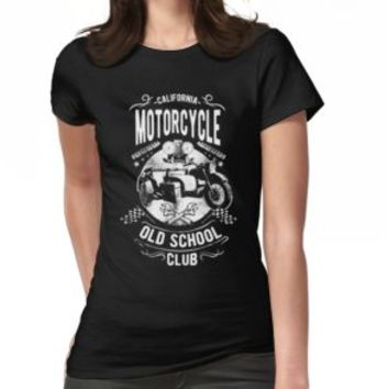 'MOTORCYCLES' T-Shirt by Super3